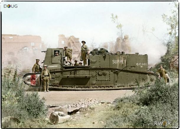 Pokolorowane zdjęcia z pól walk pierwszej wojny światowej, obrazek 10