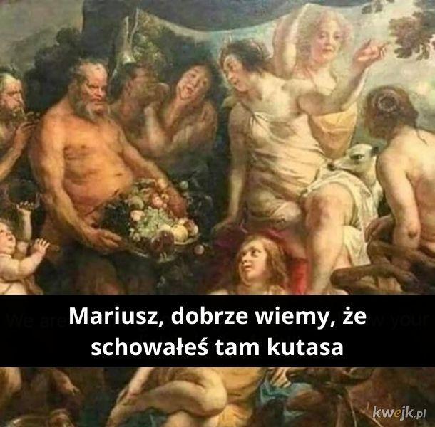 Mariusz musi zmienić swoje sztuczki