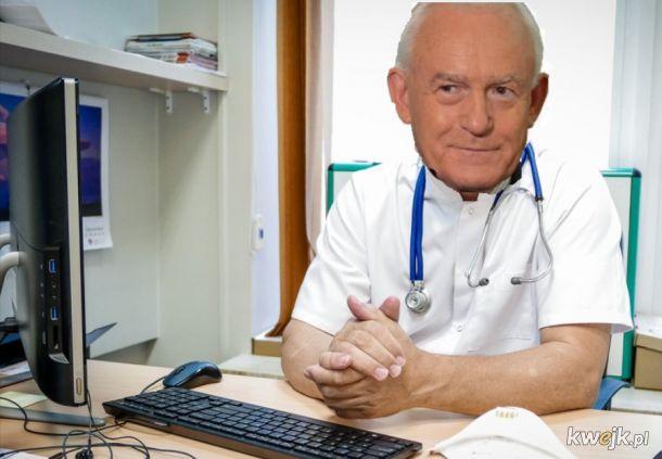 Co jest doktorku?