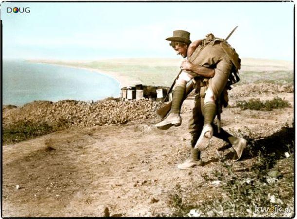 Pokolorowane zdjęcia z pól walk pierwszej wojny światowej, obrazek 3