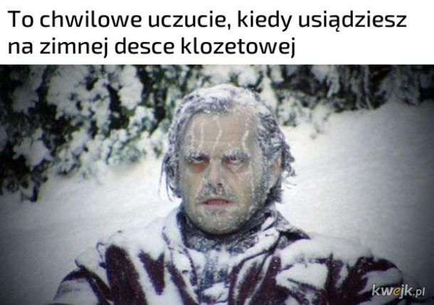 Zimna deska klozetowa