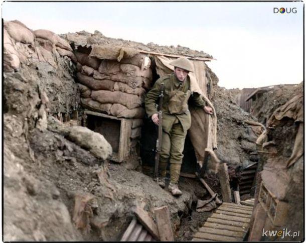 Pokolorowane zdjęcia z pól walk pierwszej wojny światowej, obrazek 6