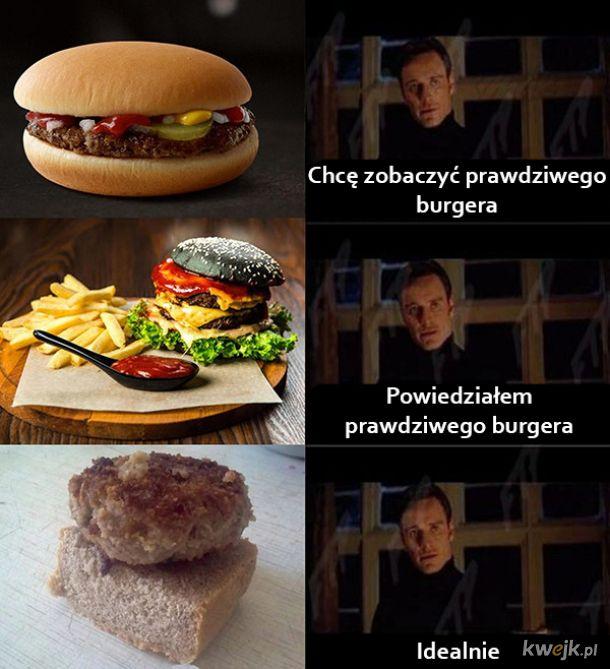 Prawdziwy burger