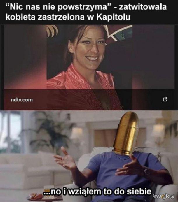 Zastrzelona kobieta