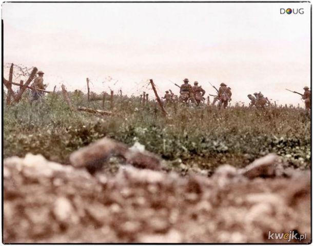 Pokolorowane zdjęcia z pól walk pierwszej wojny światowej, obrazek 20