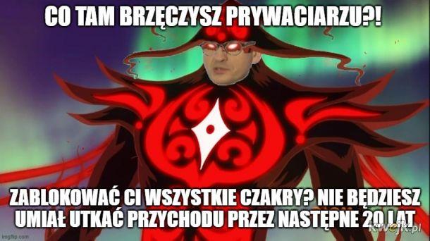 Morawiecki, wielki duch zła i chaosu
