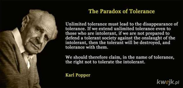 Tolerancja. Czego nie rozumiesz?
