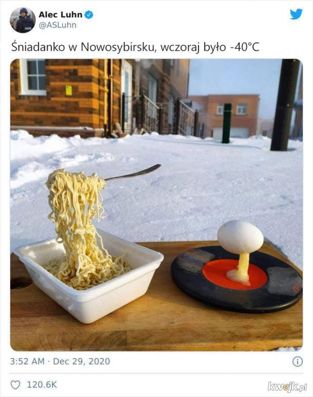 Tymczasem w Rosji, czyli potężna dawka mroźnej zimy