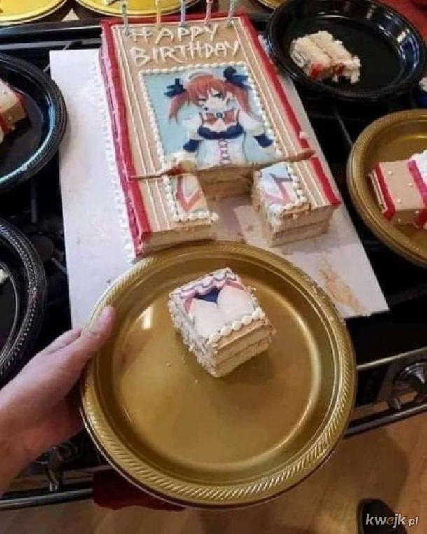 Piękny tort.