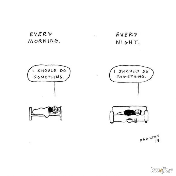 Czy leżenie się liczy?