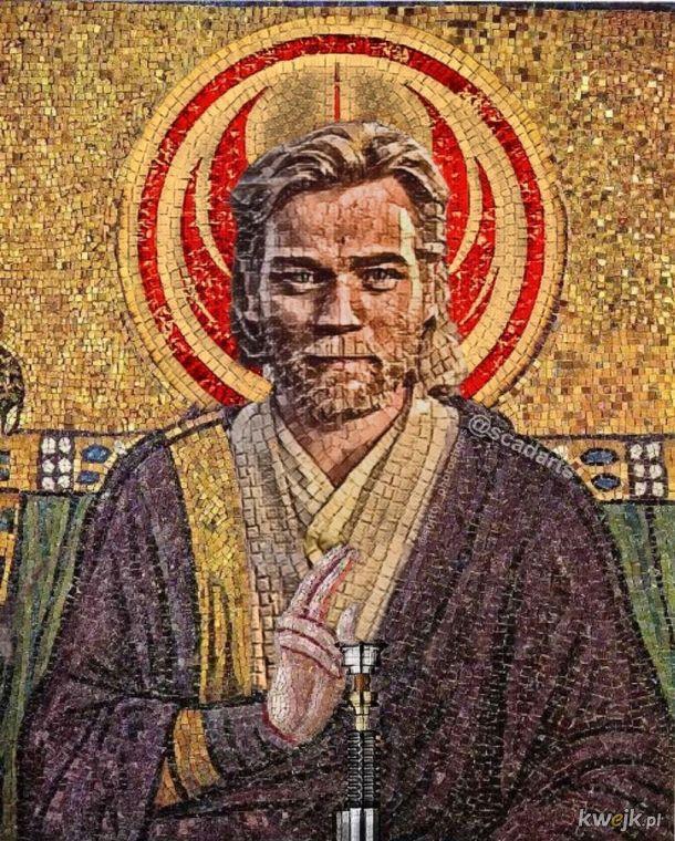 Religia dla mnie to Jedi - święte ikony