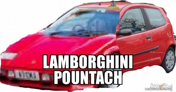 Przedstawiam wam najnowszy model lamborghini