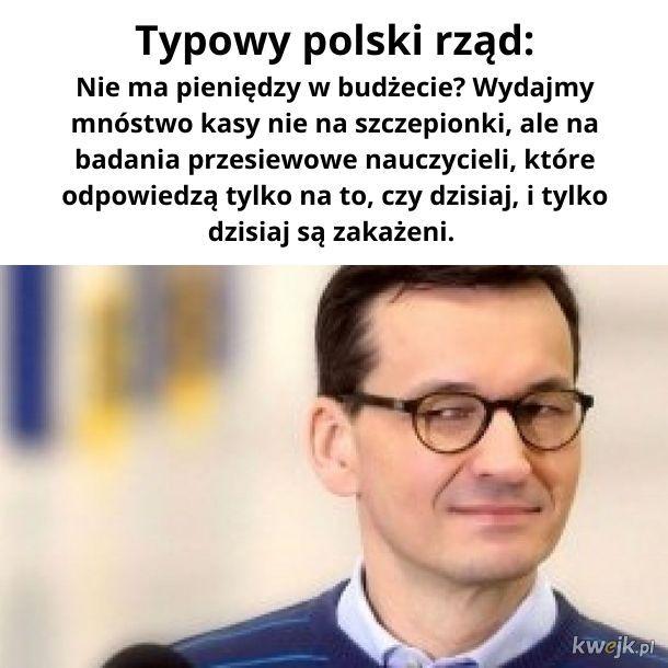 Typowy polski rząd