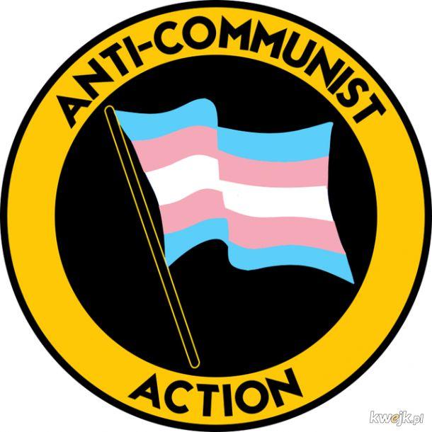 Nawet osoby transpłciowe są przeciwko komuchom