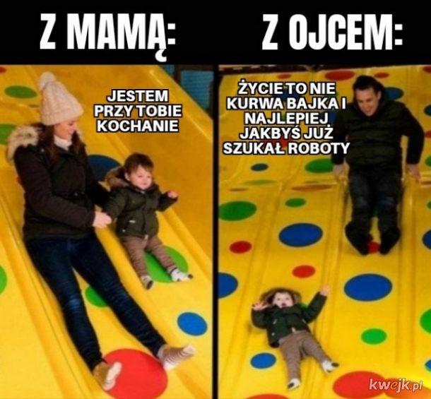 Z mamą i tatą