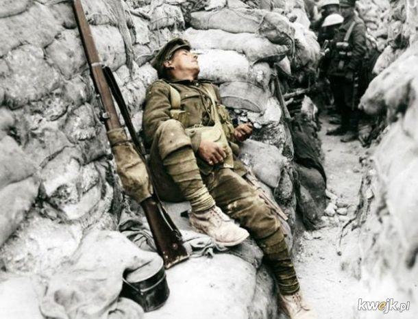 Pokolorowane zdjęcia z pól walk pierwszej wojny światowej, obrazek 24