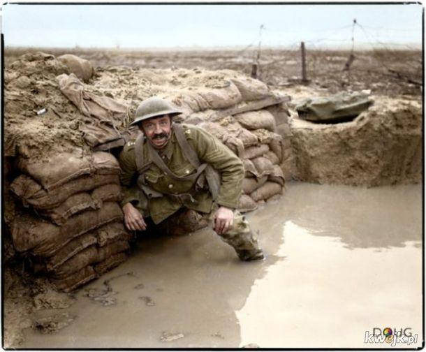 Pokolorowane zdjęcia z pól walk pierwszej wojny światowej, obrazek 19