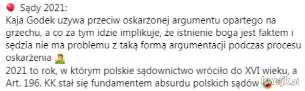 Polskie sądownictwo 2021 XD
