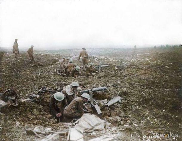 Pokolorowane zdjęcia z pól walk pierwszej wojny światowej, obrazek 22