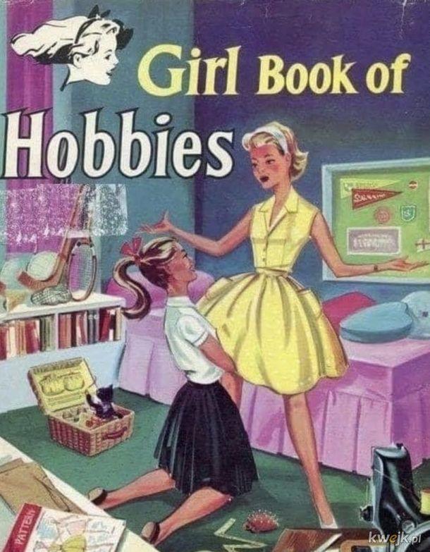 Księga zajęć dla dziewczynek hehe