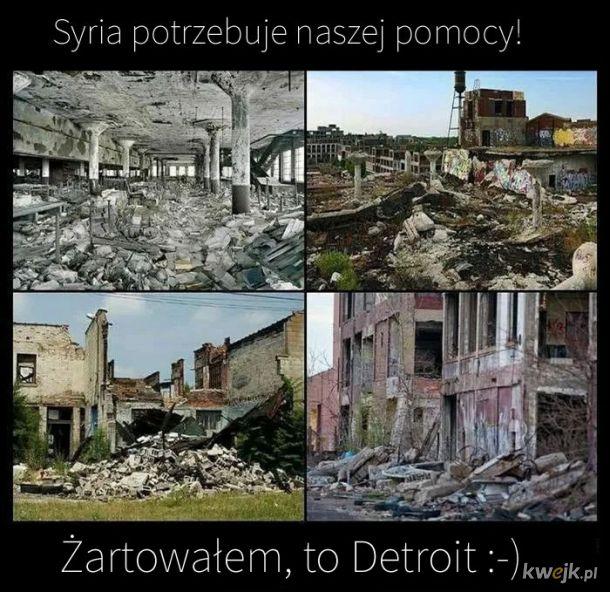 Wyślijmy im pomoc humanitarną.