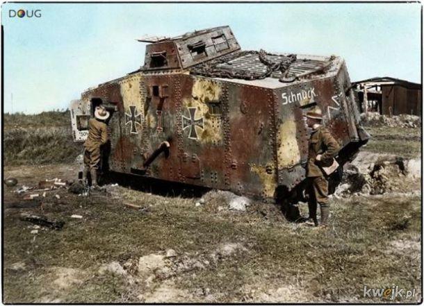 Pokolorowane zdjęcia z pól walk pierwszej wojny światowej, obrazek 17