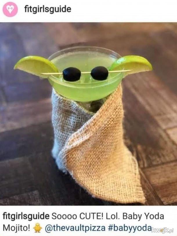 Drink z Małym Yodą