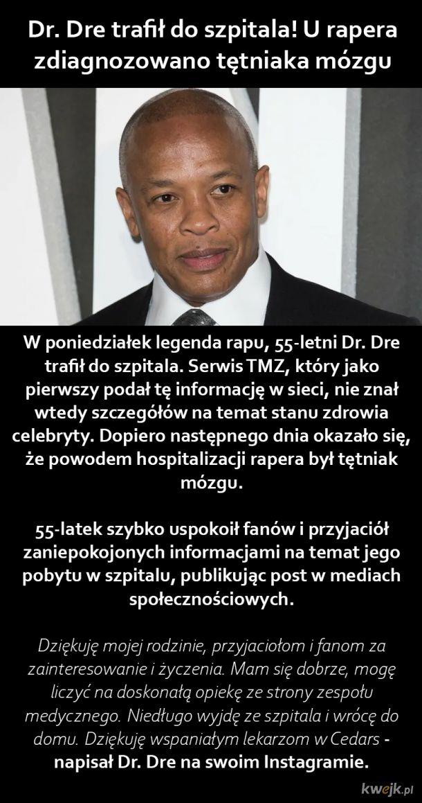 Dr. Dre w szpitalu