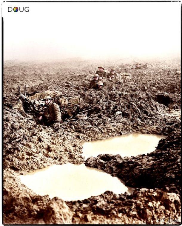Pokolorowane zdjęcia z pól walk pierwszej wojny światowej, obrazek 23