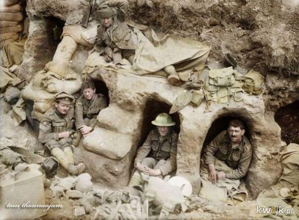 Pokolorowane zdjęcia z pól walk pierwszej wojny światowej, obrazek 13