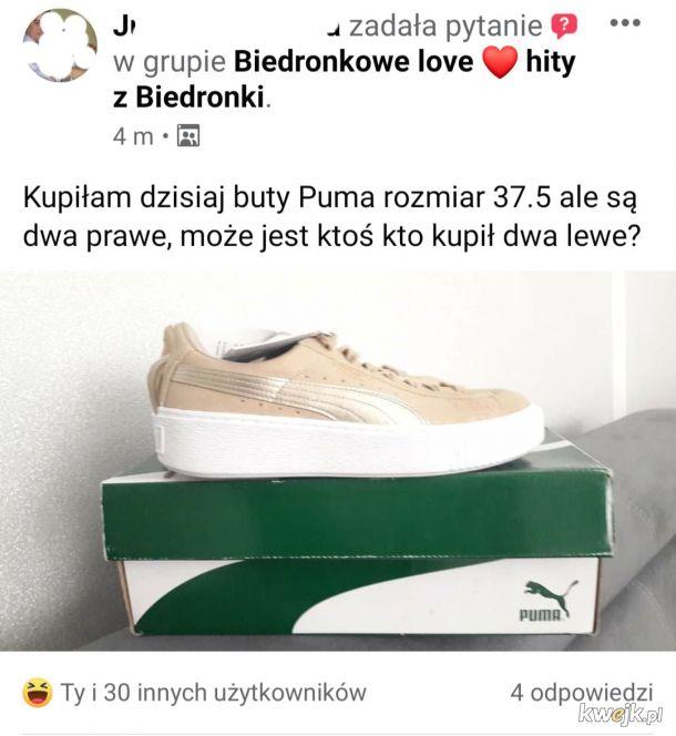 Zakup butów