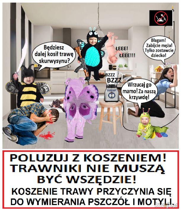 Wielki Terror w Państwie Łąkowym - Za wolność naszą i waszą!