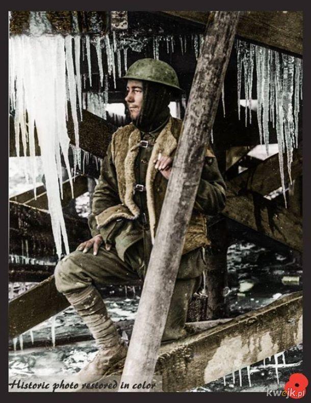 Pokolorowane zdjęcia z pól walk pierwszej wojny światowej, obrazek 15