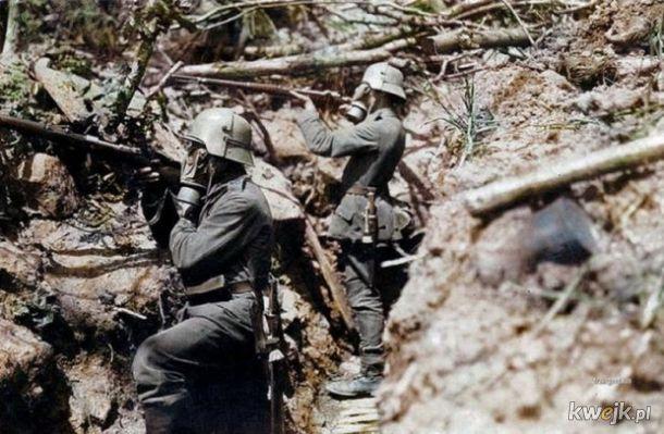 Pokolorowane zdjęcia z pól walk pierwszej wojny światowej, obrazek 5