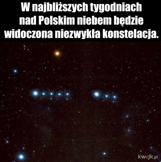 Niezwykłe zjawisko nad Polskim niebem.