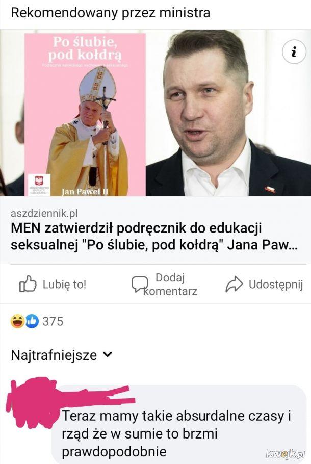 Osiągnęliśmy ten moment, nie wiadomo czy AszDziennik to beka czy prawda.
