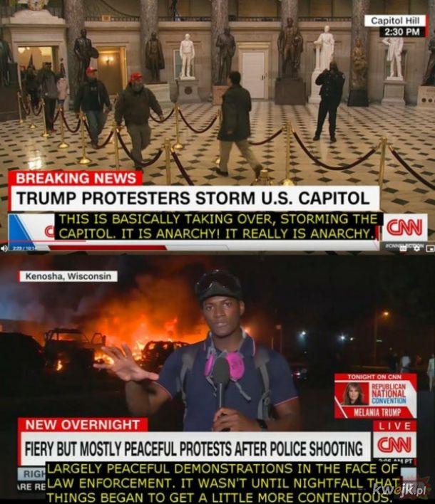CNN - chociaż w rzeczywistości było trochę gorzej