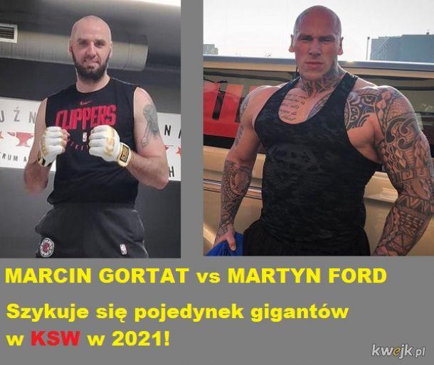 MARCIN GORTAT vs MARTYN FORD w KSW w 2021 roku? Wszystko na to wskazuje!