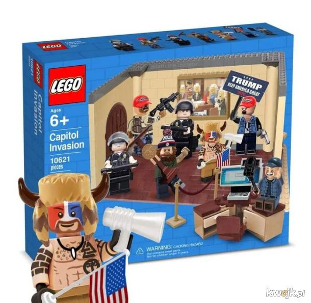 Kapitolne LEGO synek!