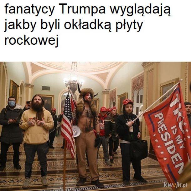 Memy ze szturmu na kapitol - co tam się od-donaldo-trumpiło !!!