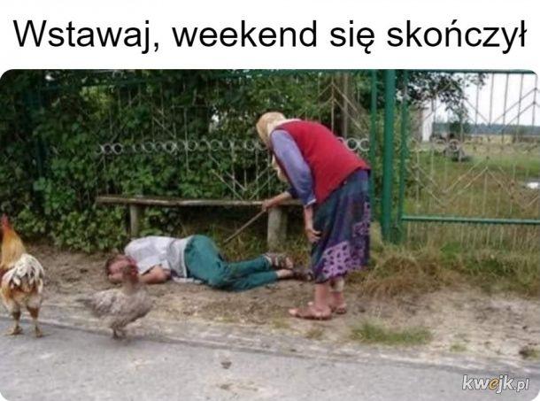 I znów poniedziałek