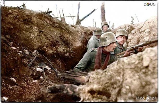 Pokolorowane zdjęcia z pól walk pierwszej wojny światowej, obrazek 4