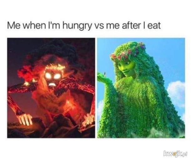 Głodny nie jesteś sobą.