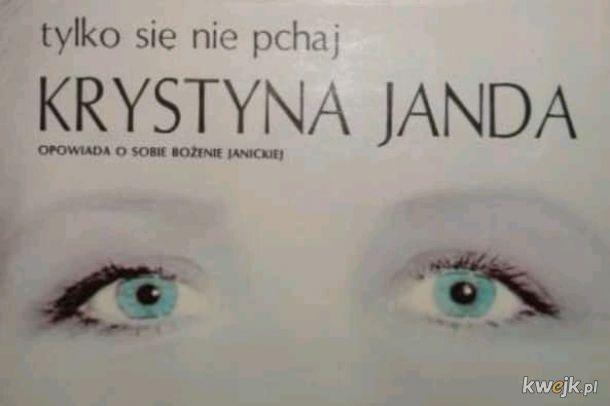 Książka Krysi Jandy