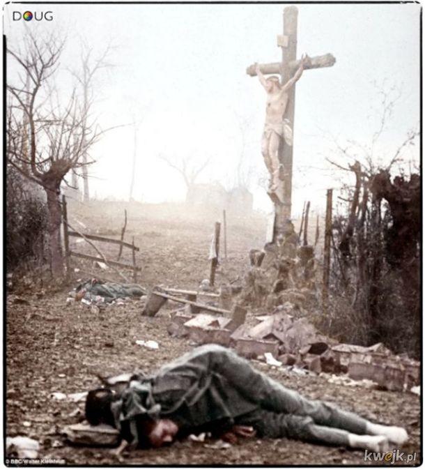 Pokolorowane zdjęcia z pól walk pierwszej wojny światowej, obrazek 7