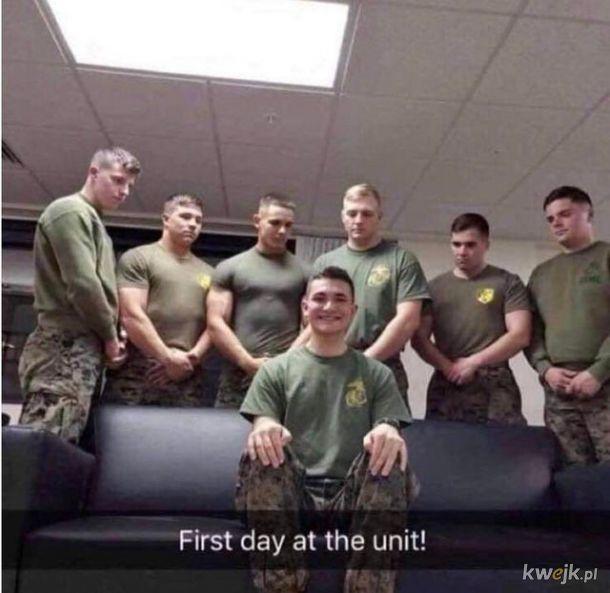 Wojsko zrobi z każdego chłopaka prawdziwego mężczyznę!
