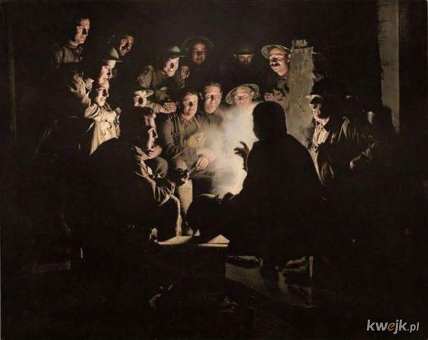 Pokolorowane zdjęcia z pól walk pierwszej wojny światowej, obrazek 2