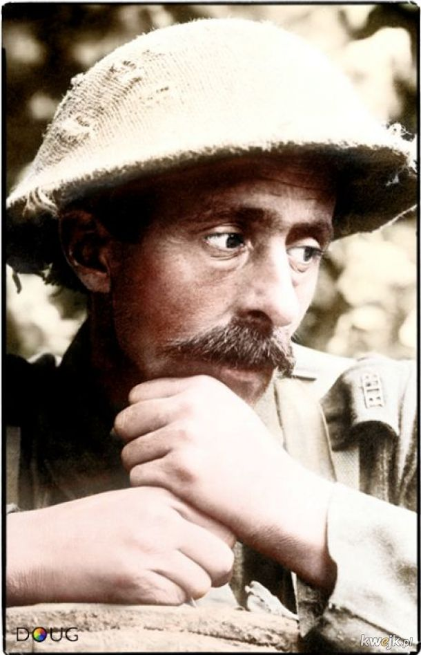 Pokolorowane zdjęcia z pól walk pierwszej wojny światowej, obrazek 11