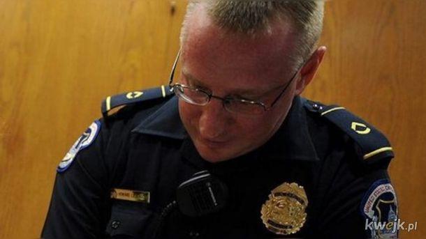 Nie zyje kolejny policjant z Kapitolu
