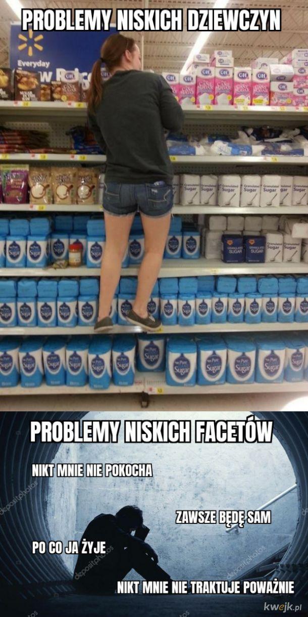 Problemy niskich dziewczyn